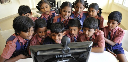 Indian students digging the granny cloud