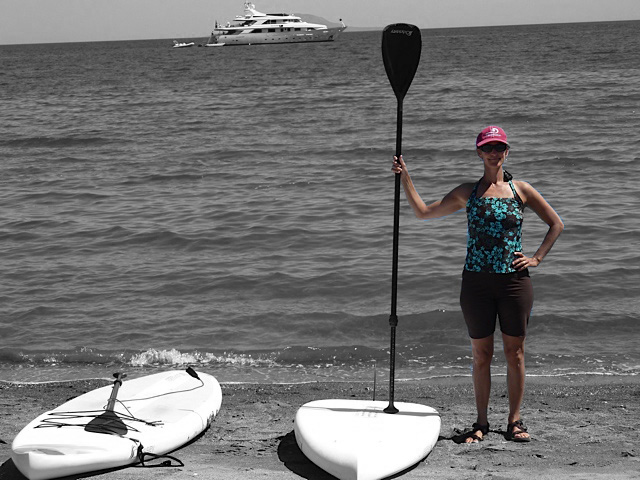 julie huffaker and yacht
