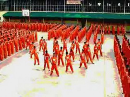 Philippino Prisoners Thriller Video